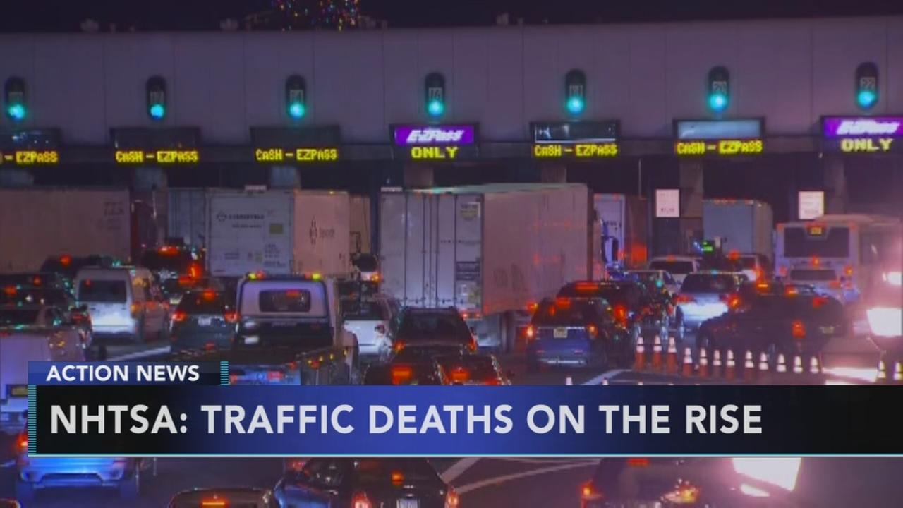 Traffic fatalities on the rise in the U.S.