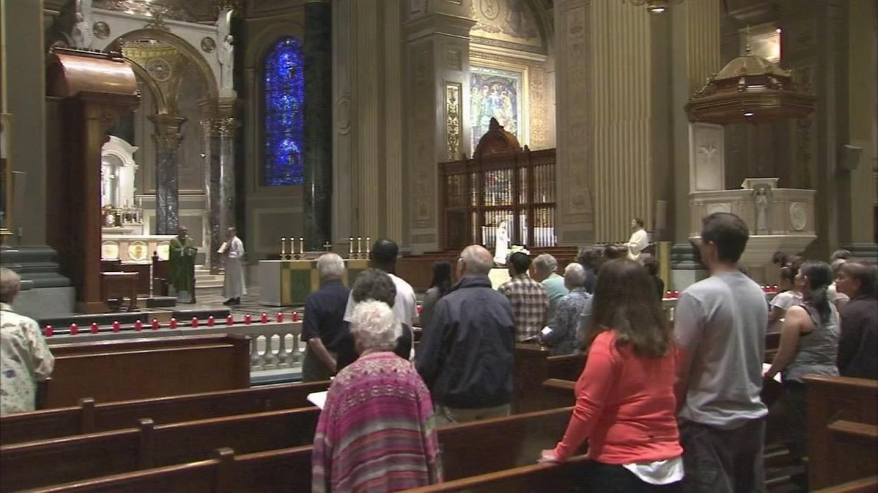 Mass held in Center City for Las Vegas victims