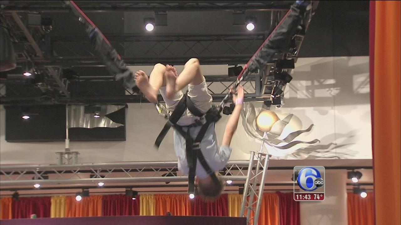 VIDEO: Science meets circus in new Franklin Institute exhibit