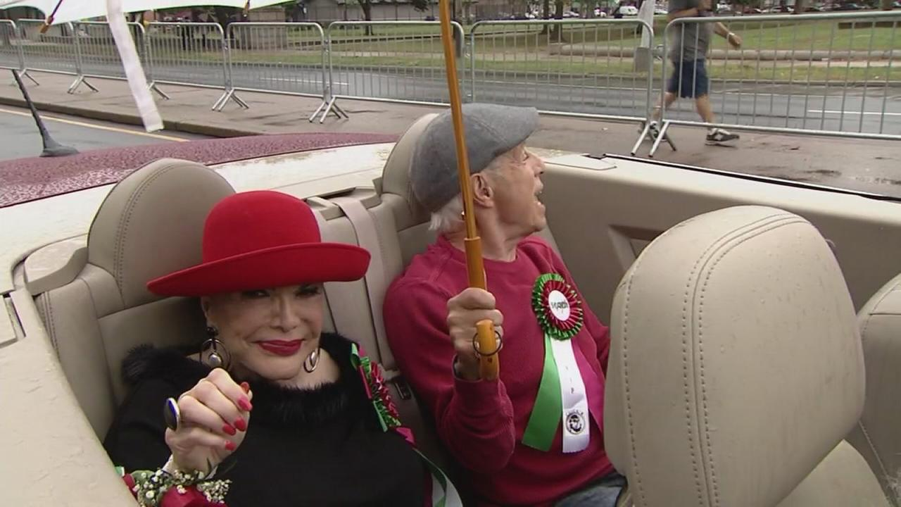 6abc Columbus Day Parade makes its way down Broad Street: Sarah Bloomquist reports on Action News at 5 p.m., October 8, 2017