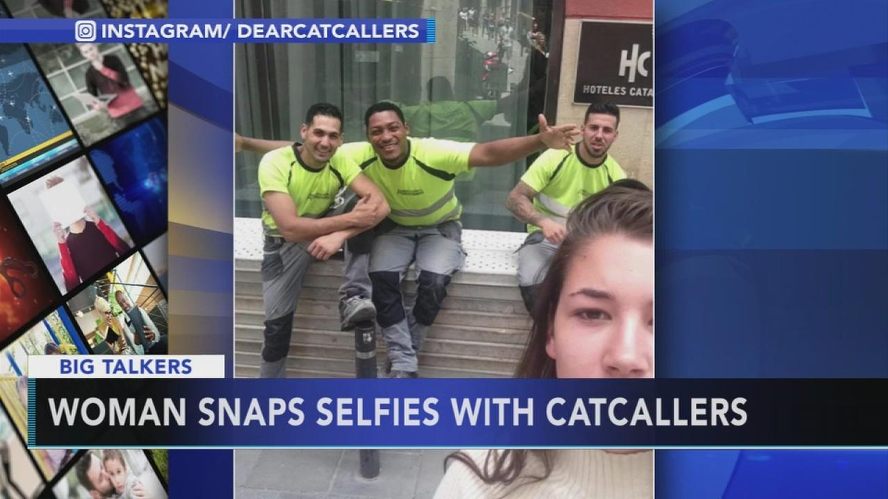 VIDEO: Selfies with catcallers
