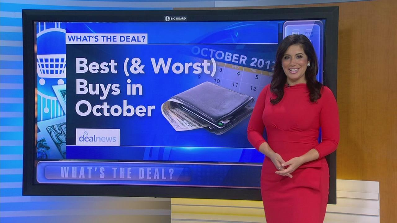 Whats the Deal: Best items to buy in October