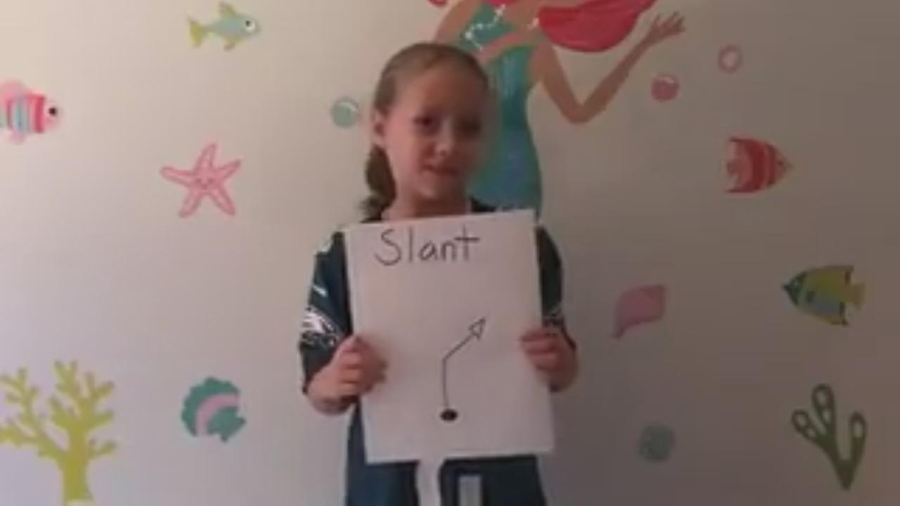 Local second grader creates social media stir calling out Cam Newton: Jamie Apody reports on Action News at 6 p.m., October 9, 2017