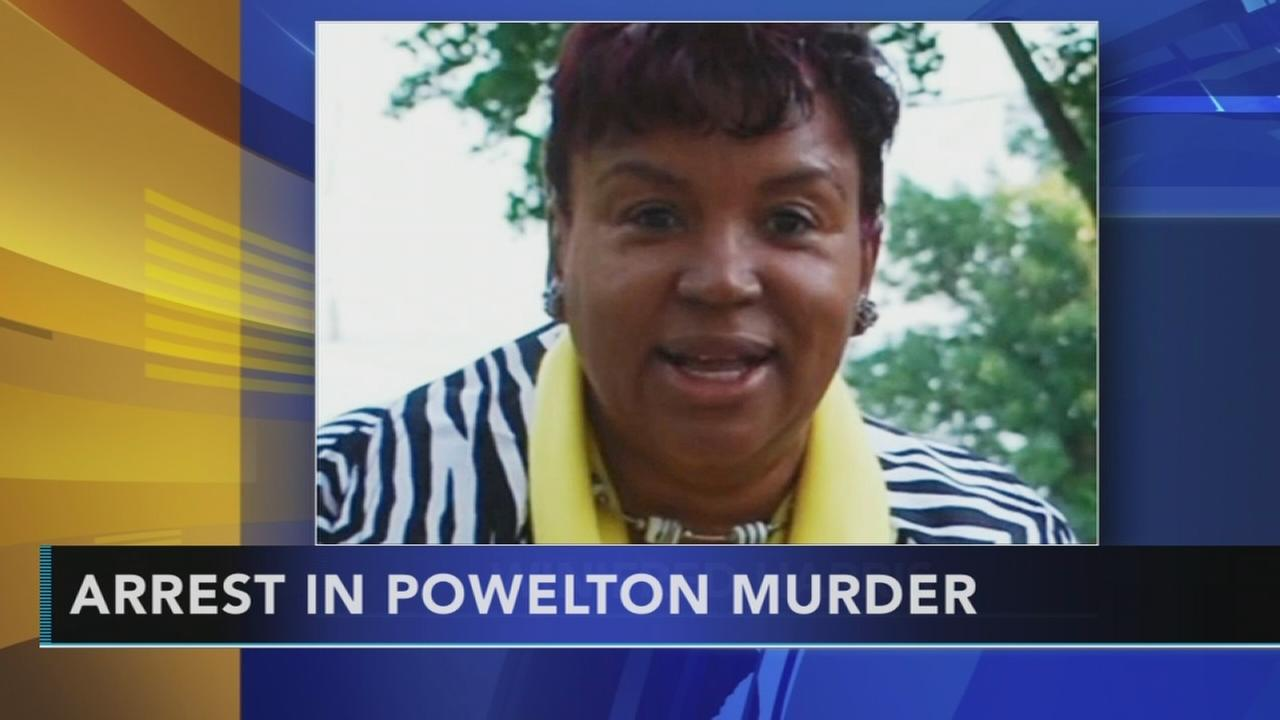 Arrest in Powelton murder: Rick Williams reports on Action News at 11 p.m., October 9, 2017