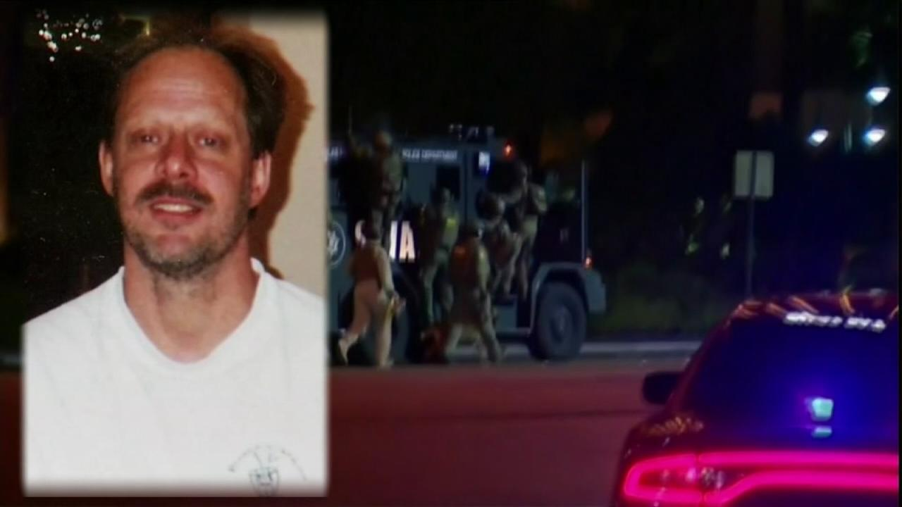 Vegas gunman shot guard before firing on crowd