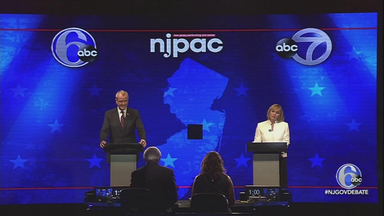 NJ Gubernatorial Debate: Part 1