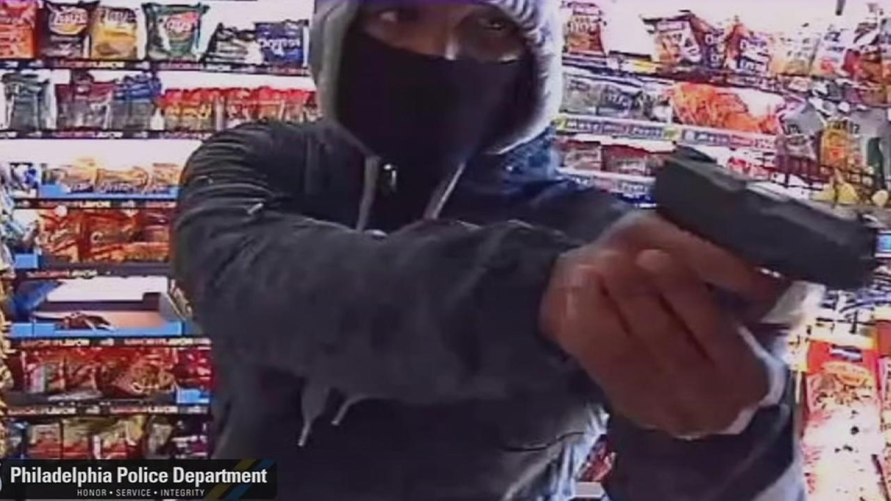 Armed man sought after West Philly market robbery
