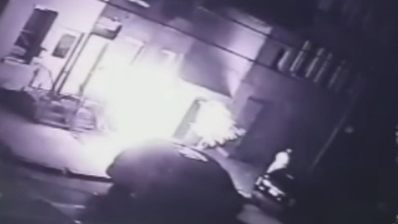 Arsonist captured on video lighting motorcycle on fire in Northern Liberties