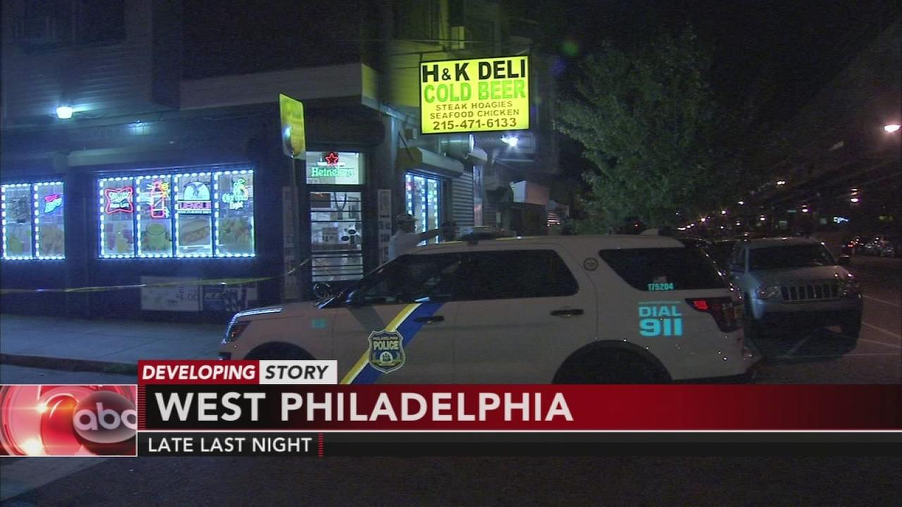 West Philadelphia store owner says he shot robbery suspect