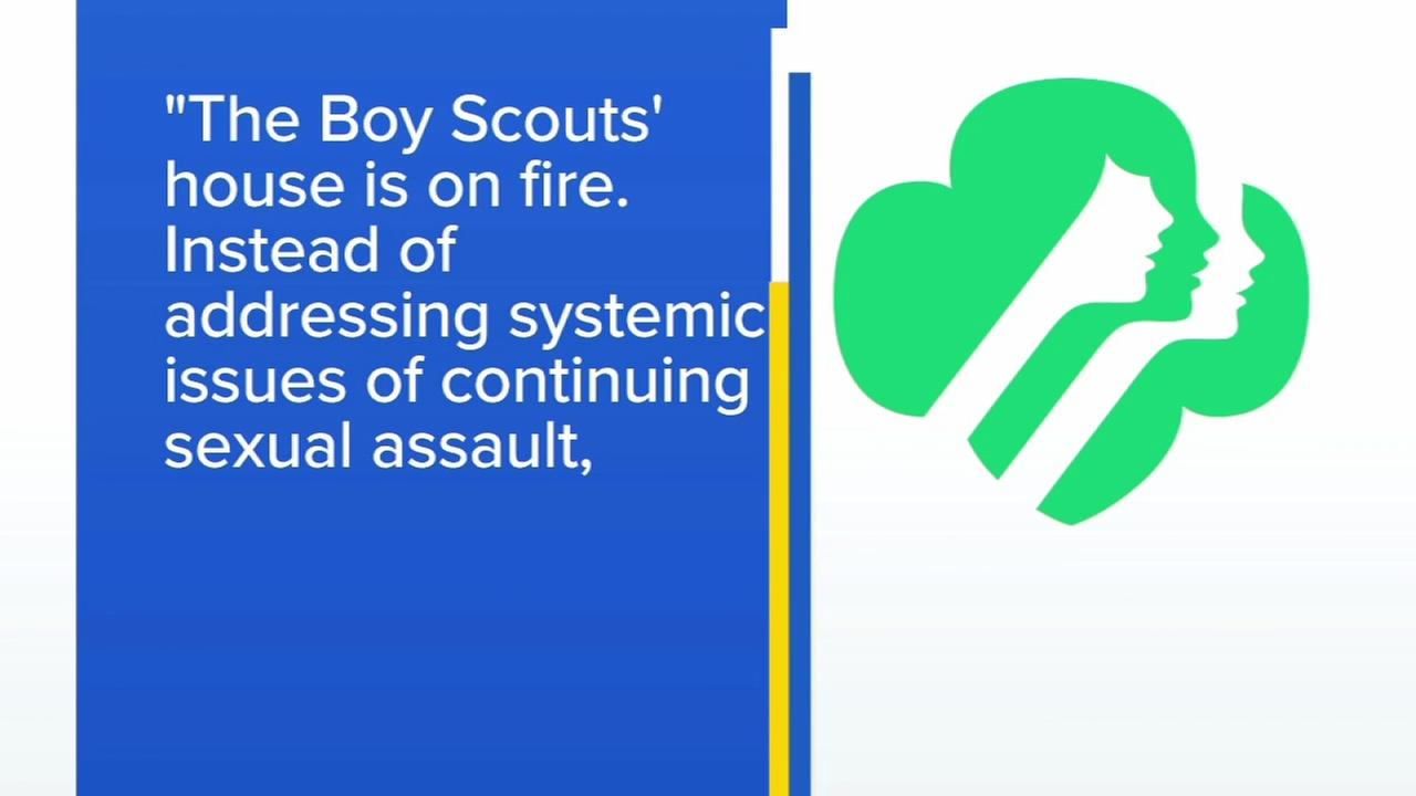 Girl Scouts respond to Boy Scouts change