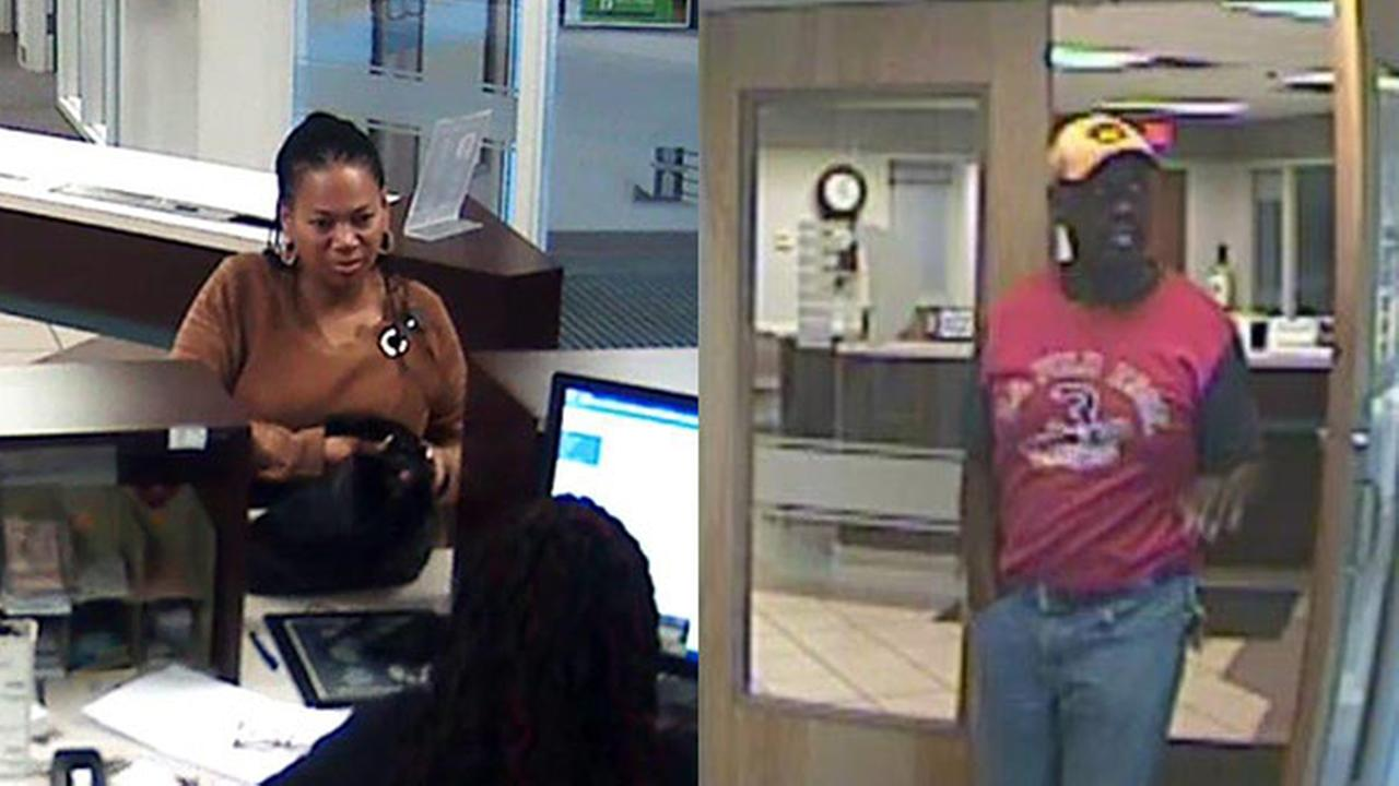 Police: Woman sought in Del. bank fraud