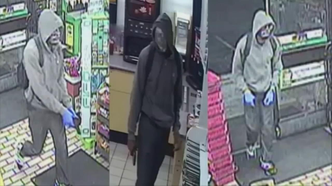 Suspects sought for crime spree in Philly, suburbs