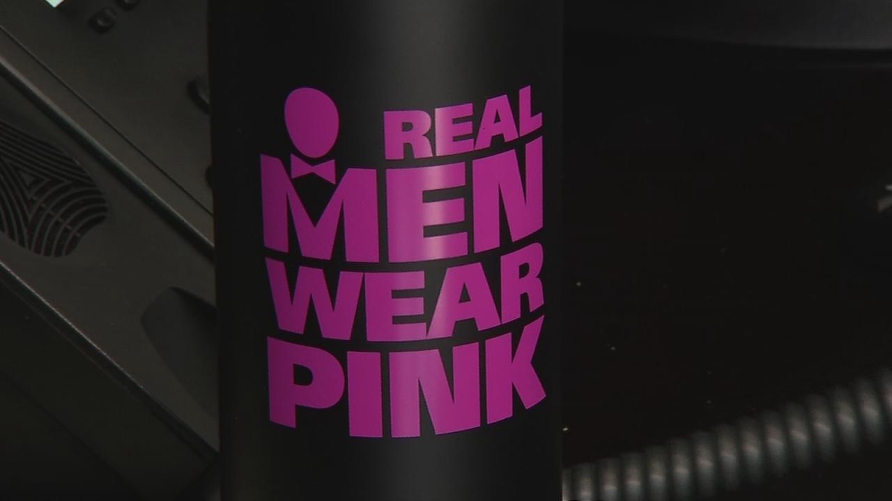 Real Men Wear Pink enlists men to help raise awareness, funds