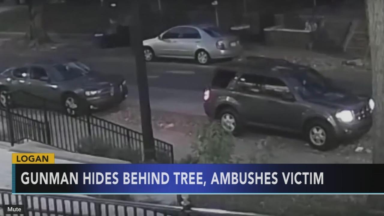 Video shows gunman ambush victim in Logan