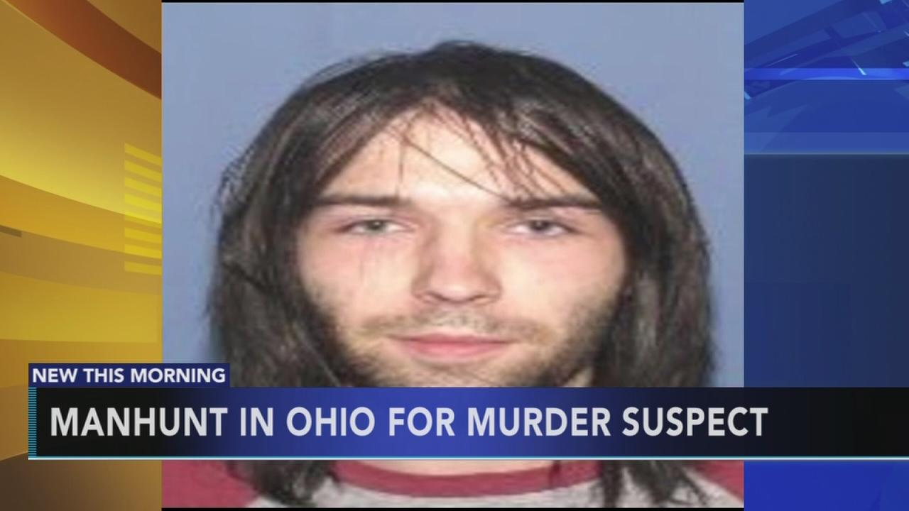 Manhunt for murder suspect