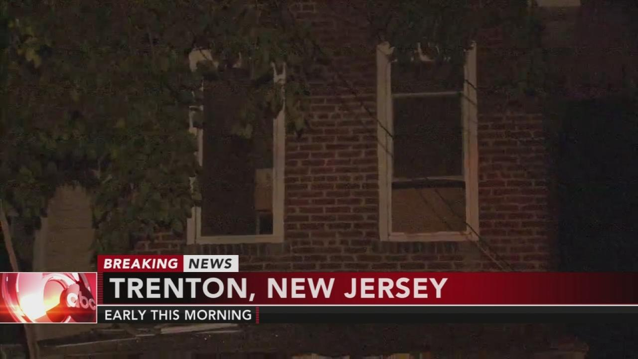 Fire damages home in Trenton