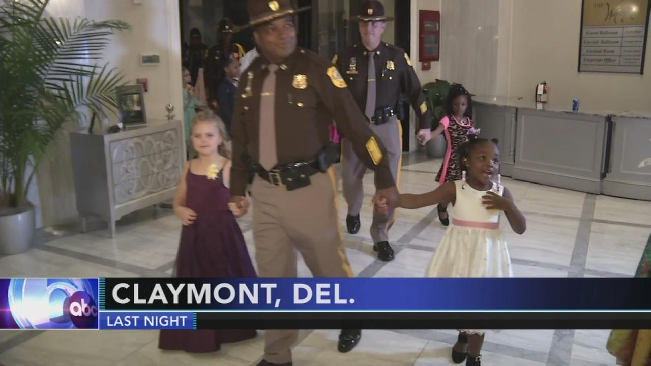 New Castle County Police hold Police and Princess Ball