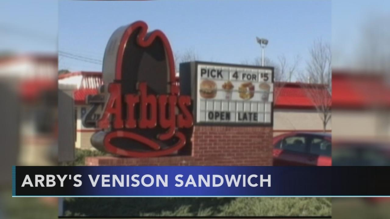 Oh, deer! Arbys to sell venison sandwich nationwide