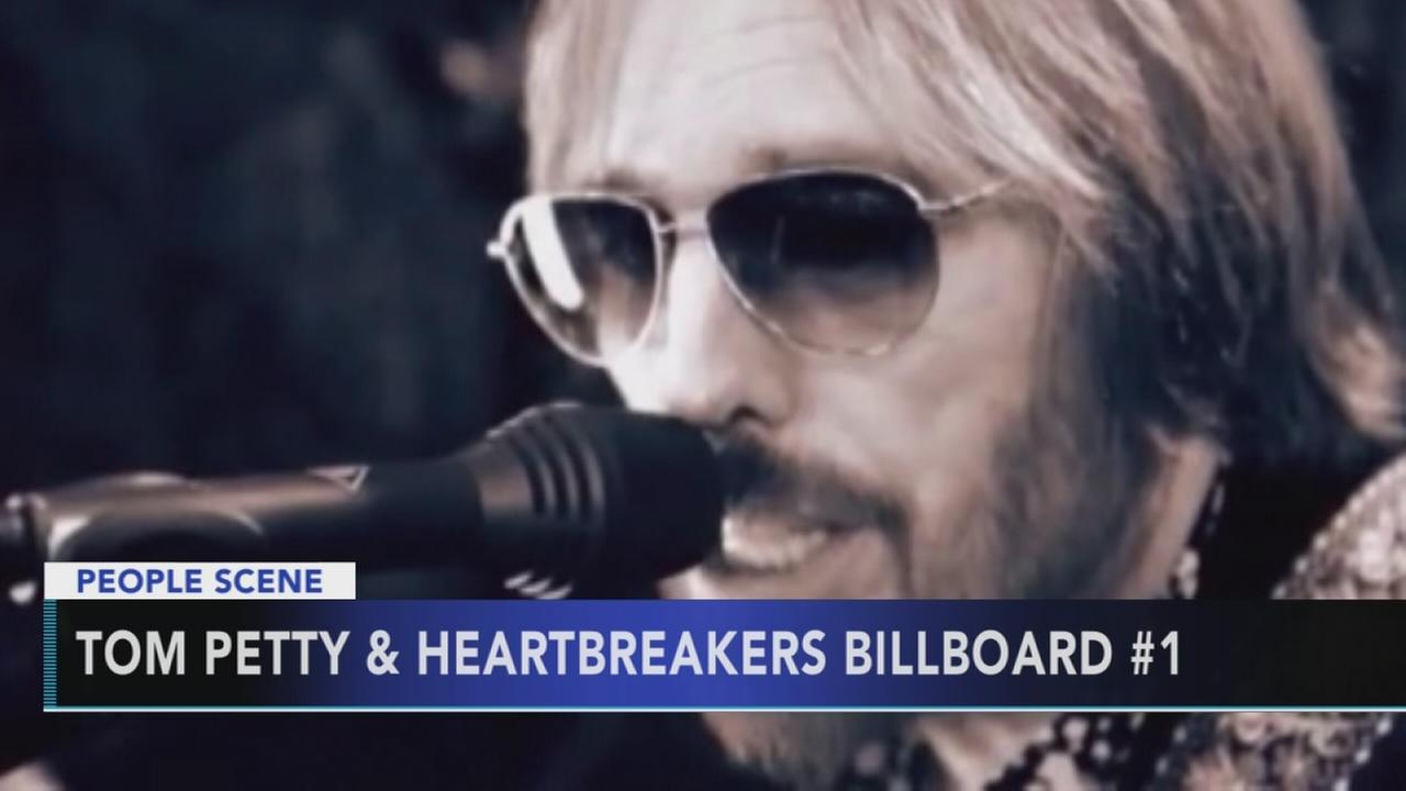 Tom Petty tops the charts two weeks after his death