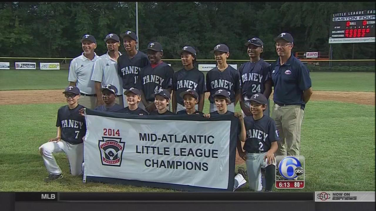 VIDEO: Taney Dragons advance to LLWS