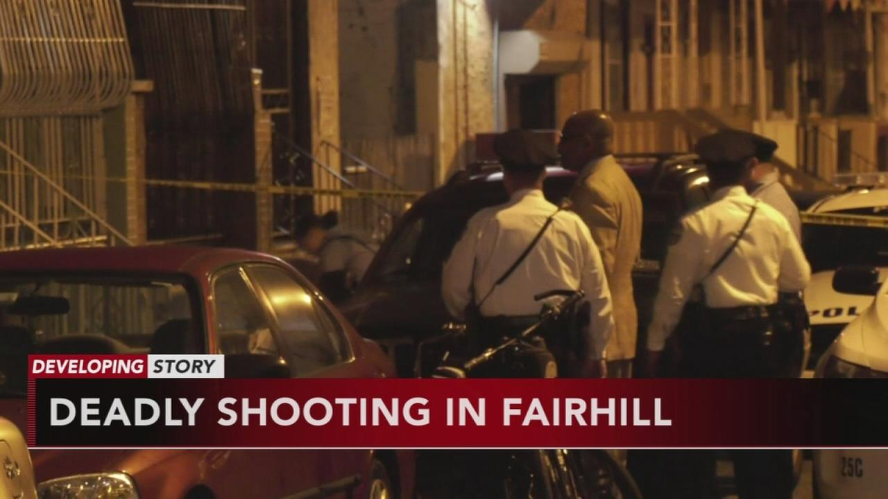 Man shot, killed in Fairhill shooting