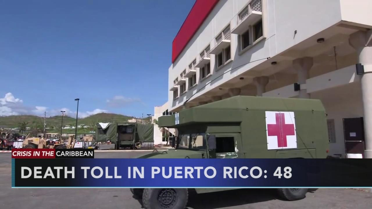 VIDEO: Puerto Rico raises Hurricane Maria death toll to 48