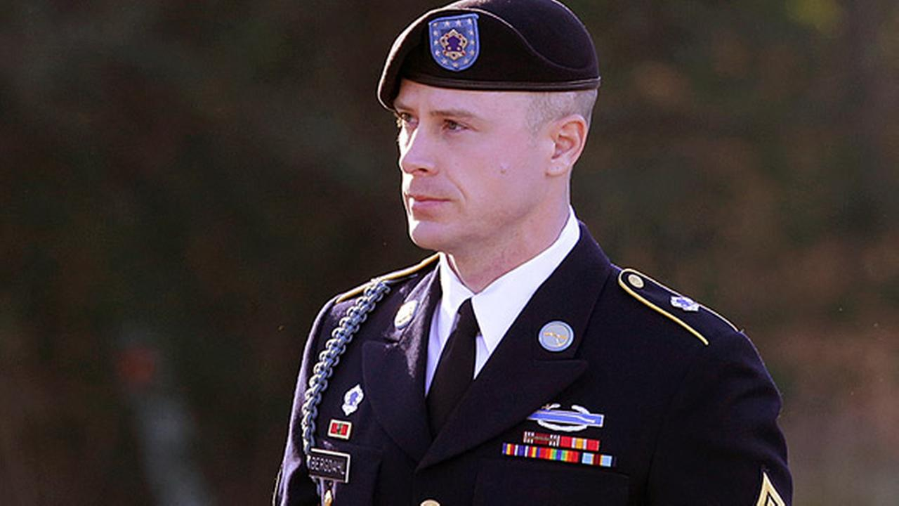 FILE - In this Jan. 12, 2016, file photo, Army Sgt. Bowe Bergdahl arrives for a pretrial hearing at Fort Bragg, N.C.