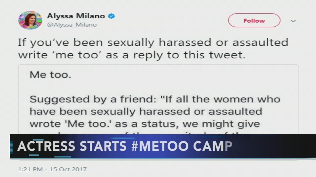 Women ID as assault, harassment victims with me too tweets