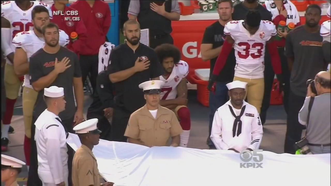 Local activists call for NFL protest on heels of Kaepernick grievance