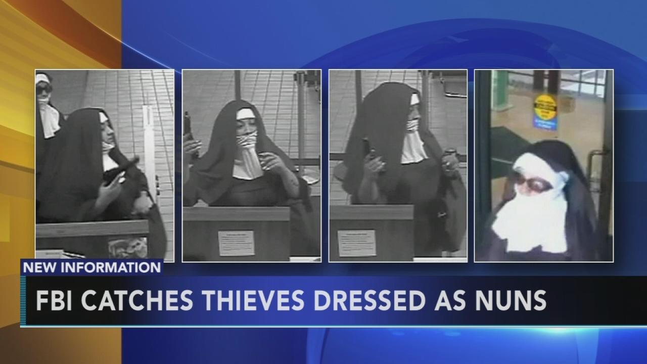 FBI catches thieves dressed as nuns