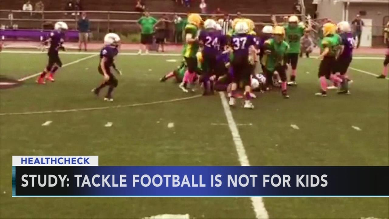 Study: Tackle football is not for kids