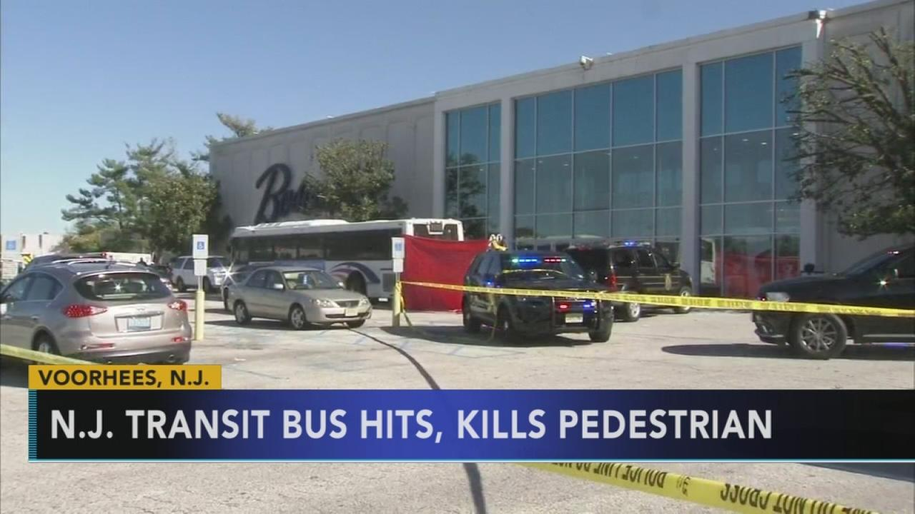 Pedestrian killed by NJ Transit Bus