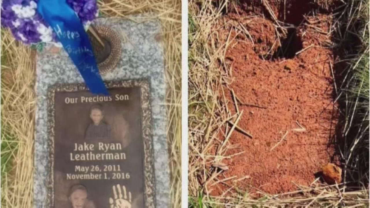 5-year-old boys grave marker repossessed after payment dispute
