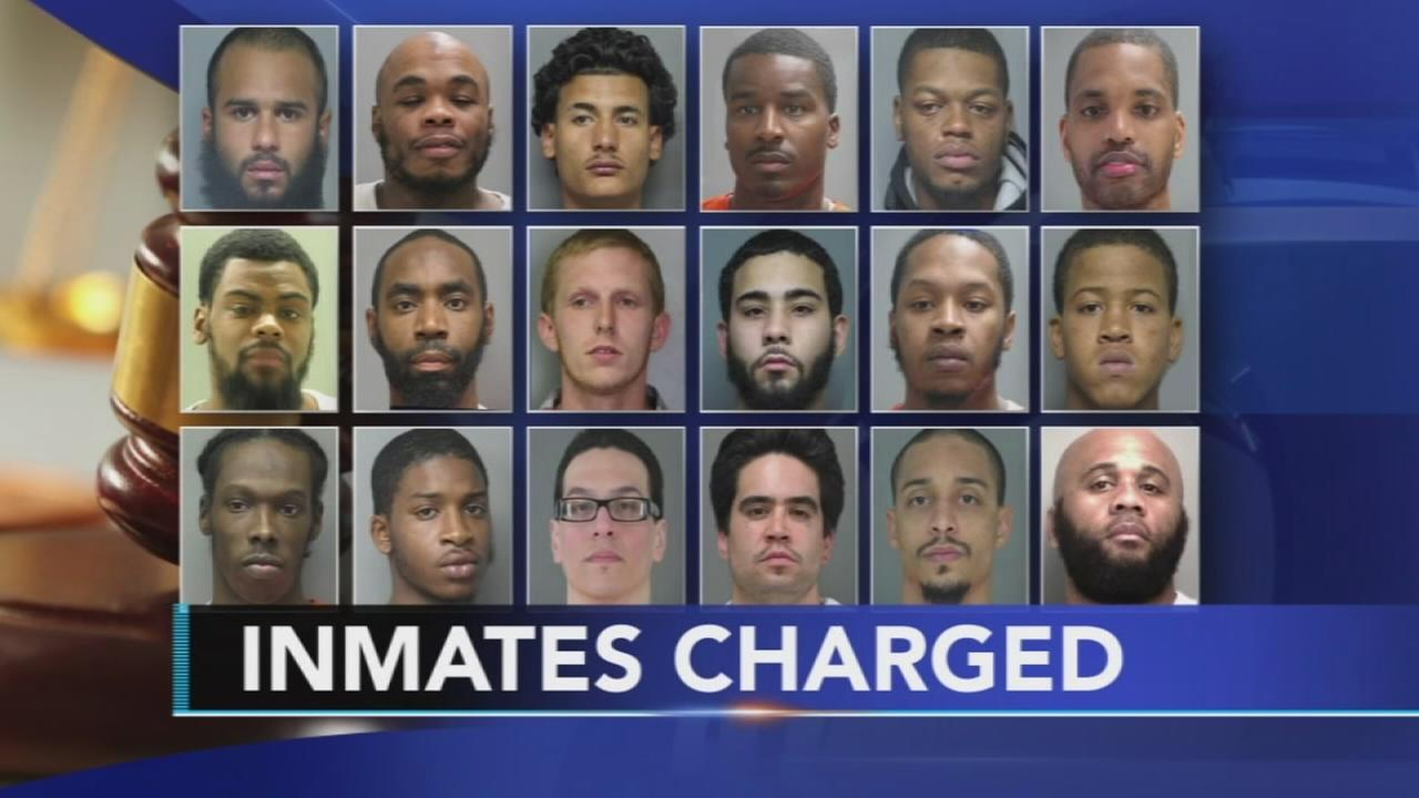 16 charged with murder in Delaware prison riot