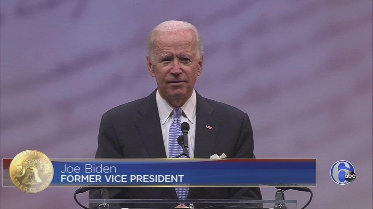 Liberty Medal Biden