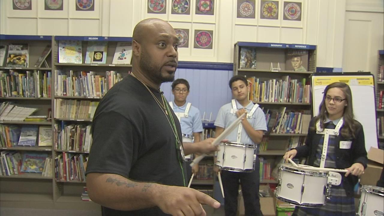 Philly police officers take their skills into classrooms for enrichment program