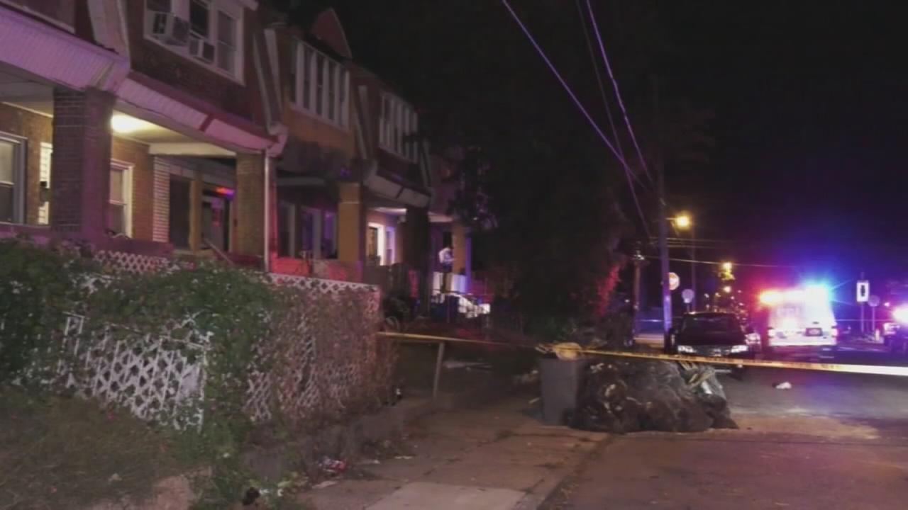 Stabbing victim found with knife in back in West Oak Lane