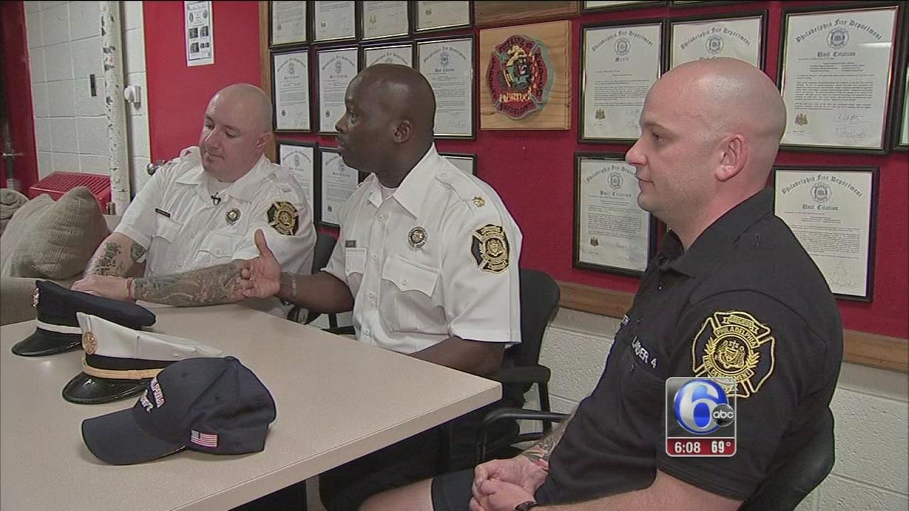 VIDEO: Firefighters in fatal blaze speak