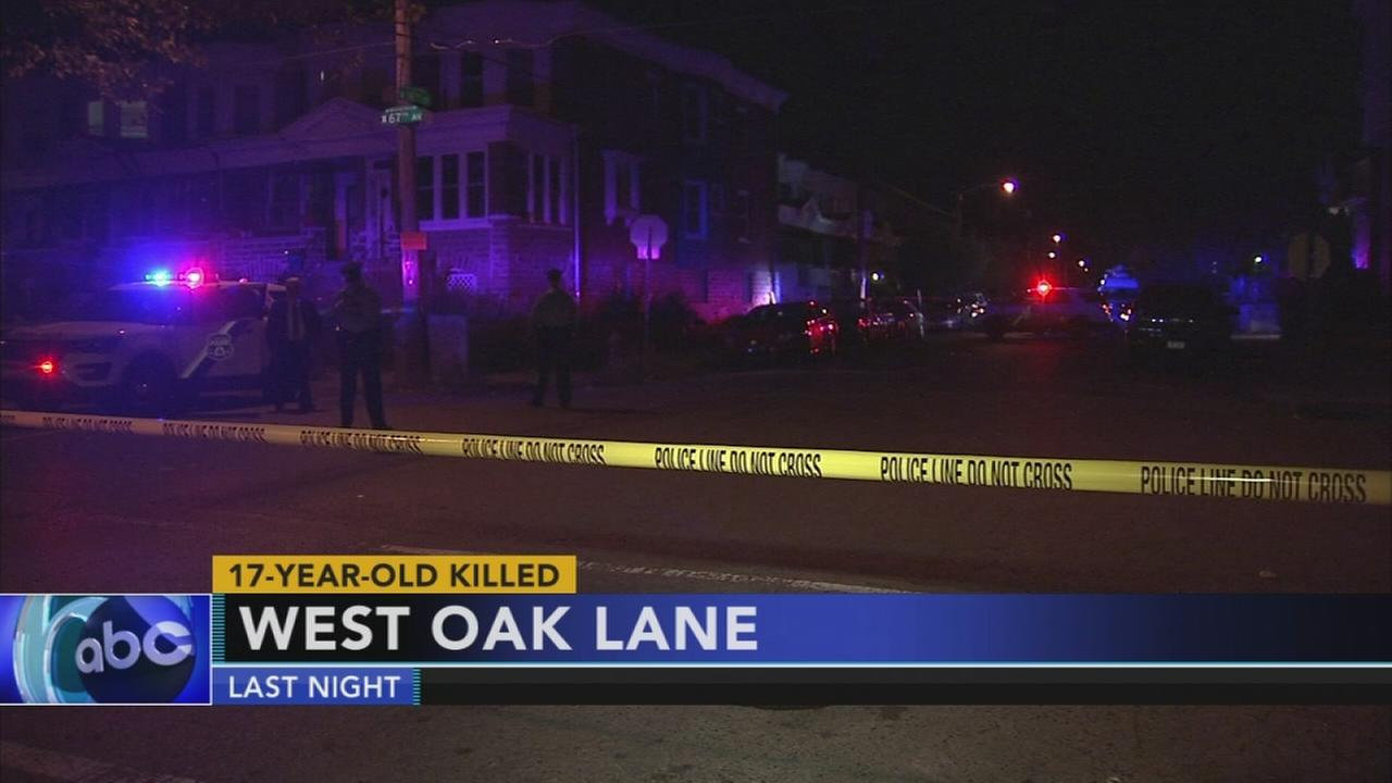 1 teen killed, 1 injured in Philadelphia shootings