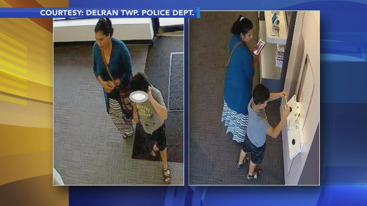 Police: Woman used child to steal from cell phone store