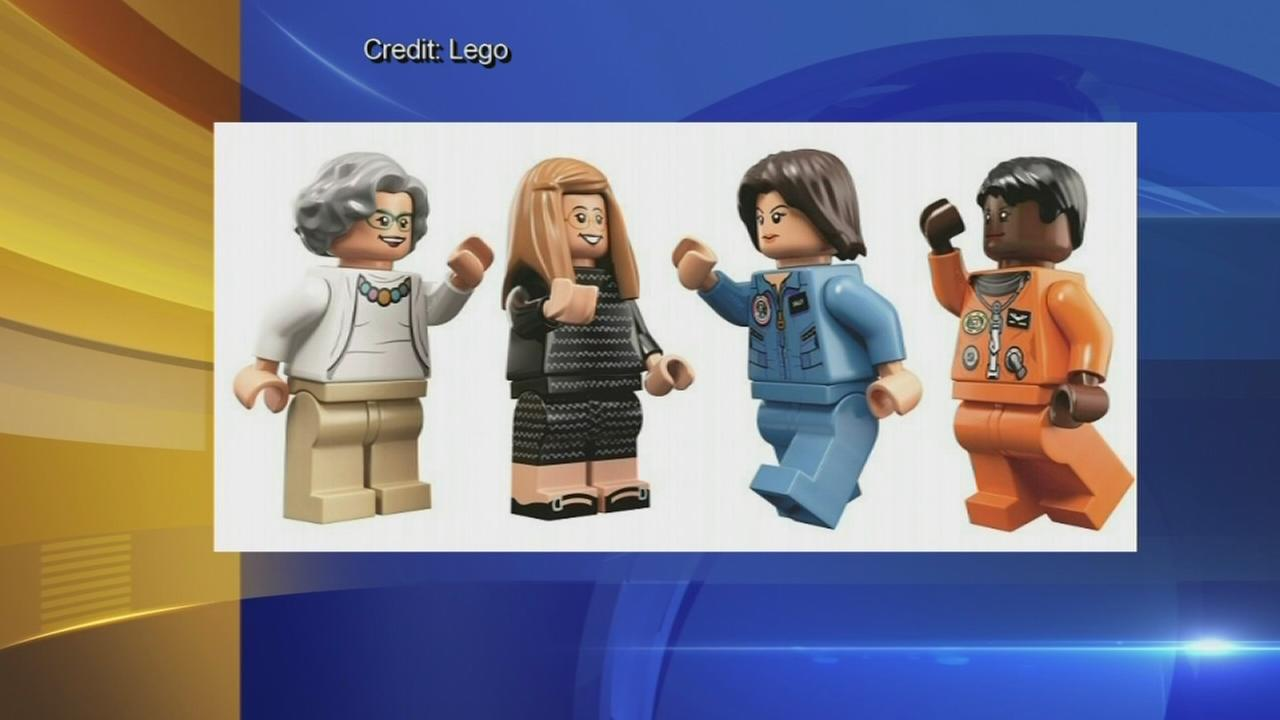 Lego unveils Women of NASA set with astronauts, scientists