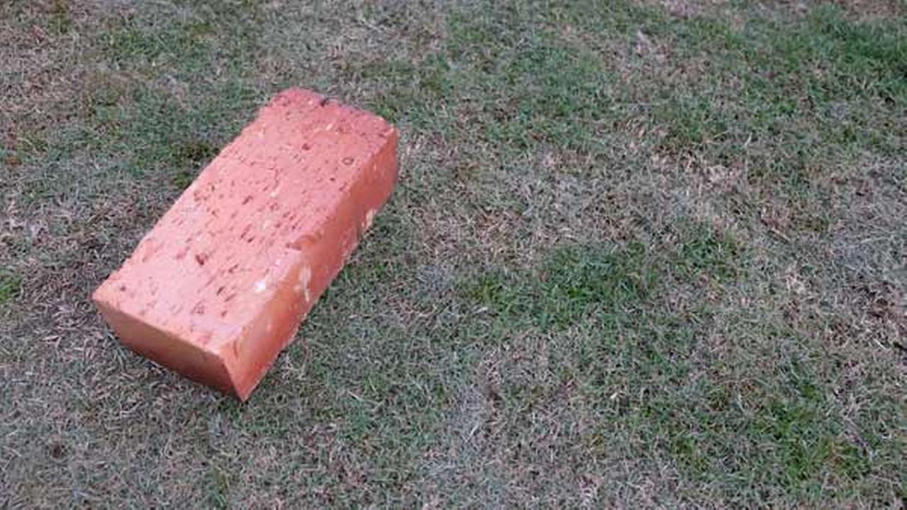 Stock image of a brick.