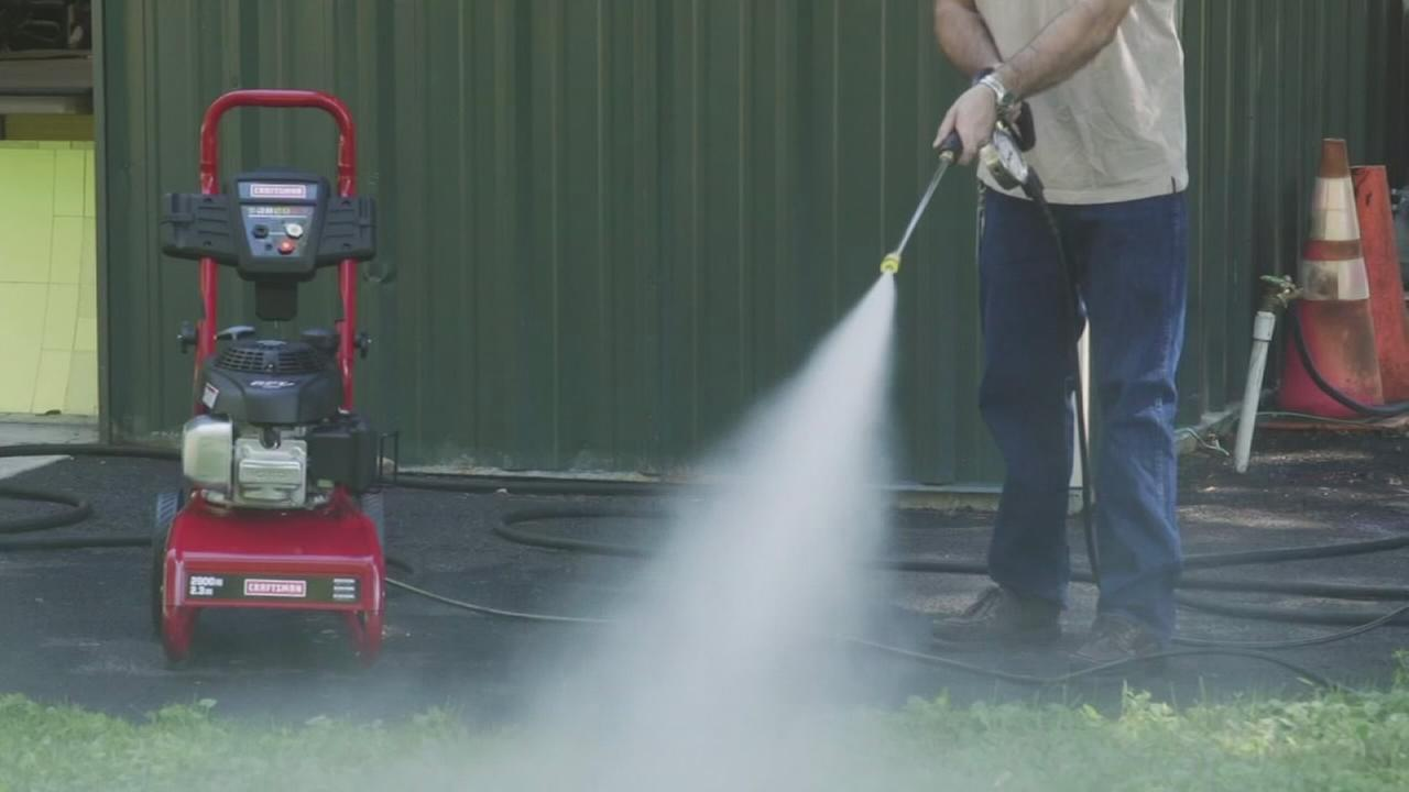 Consumer Reports: Staying safe while using a pressure washer