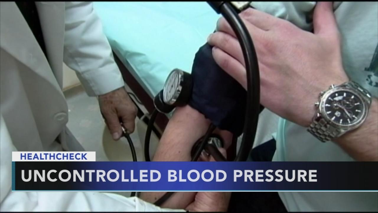 Study: Many Americans have uncontrolled blood pressure