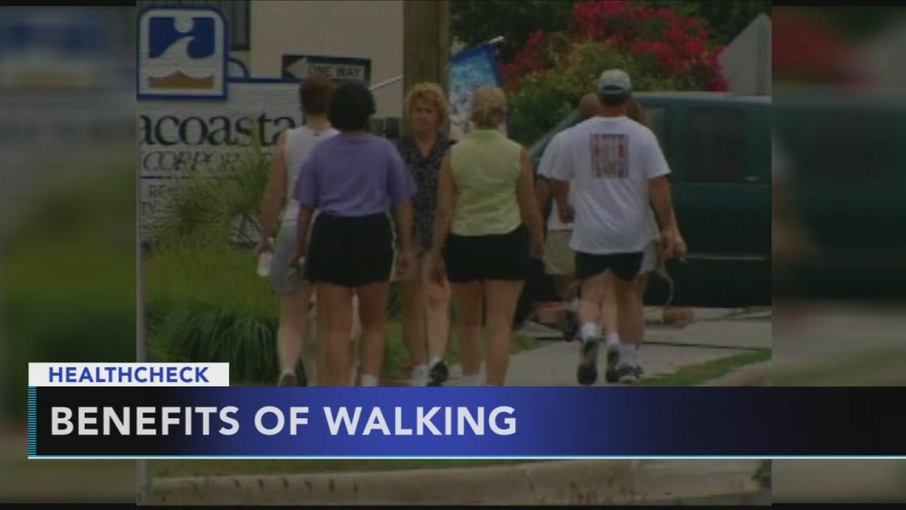 Walking more can lower risk is early death