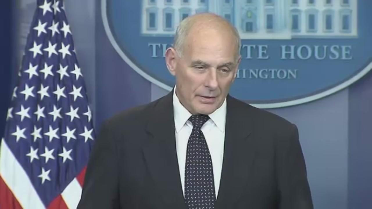 Kelly defends Trumps call to war widow, raps congresswoman