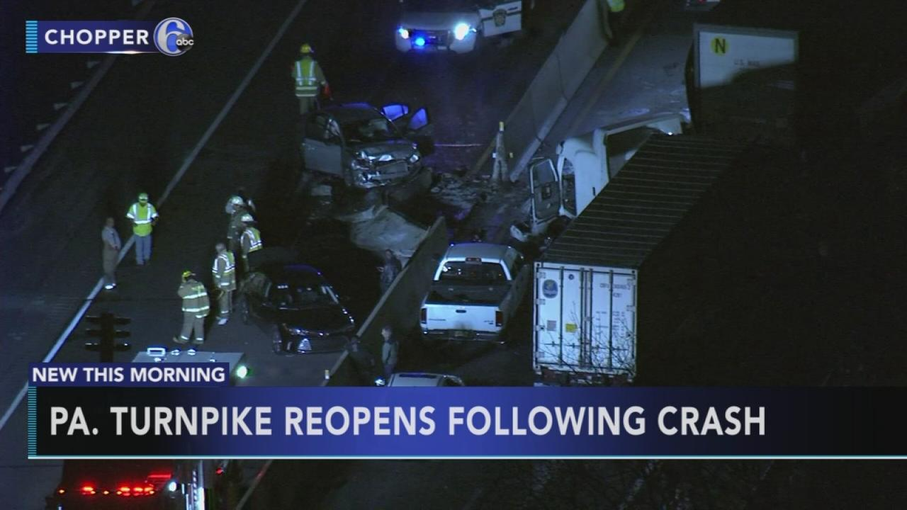 Pa. Turnpike reopens