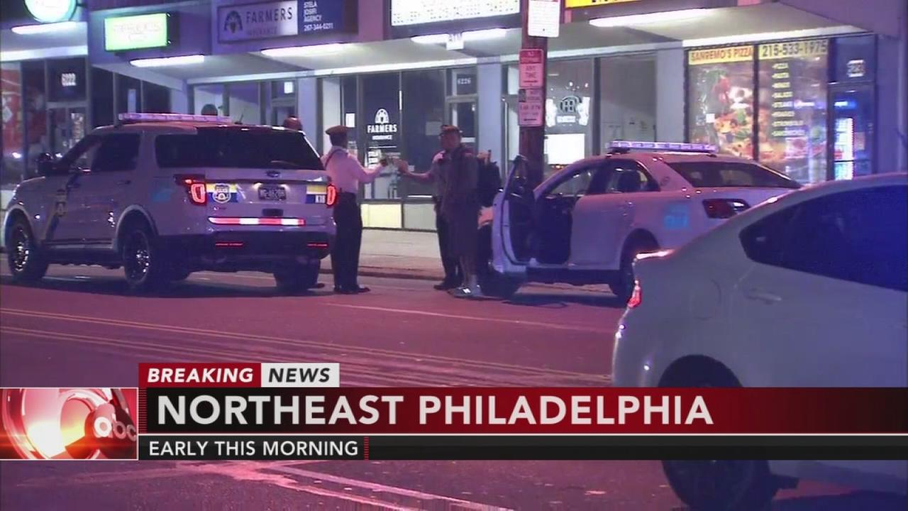 Shots fired in NE Philadelphia