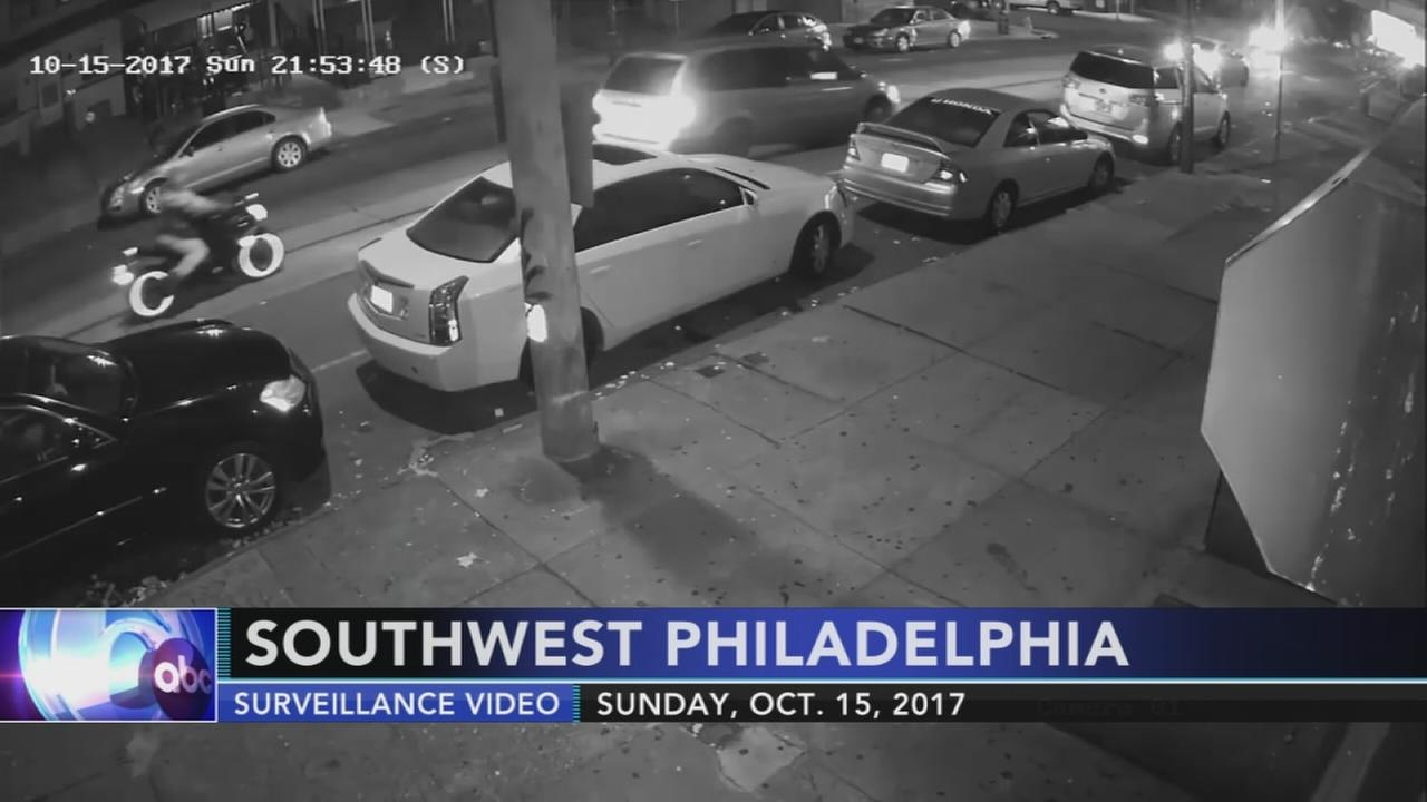 VIDEO: Philadelphia police seek van possibly involved in hit-and-run