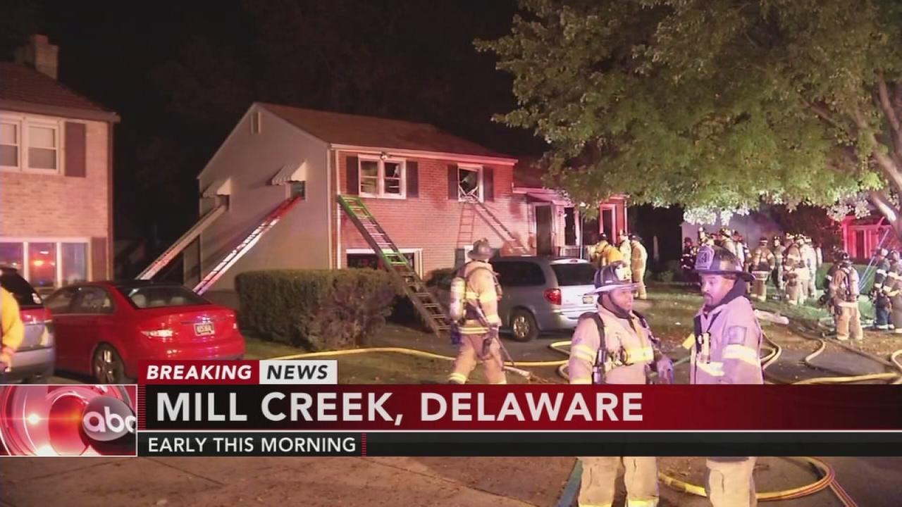 Elderly man, dog rescued from Mill Creek house fire
